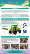 Hydra-Porter: Hydraulically Powered 4-Wheel Ffb Transporter For Soft Structured Soil And Steep Terrain (ITEX 2017)