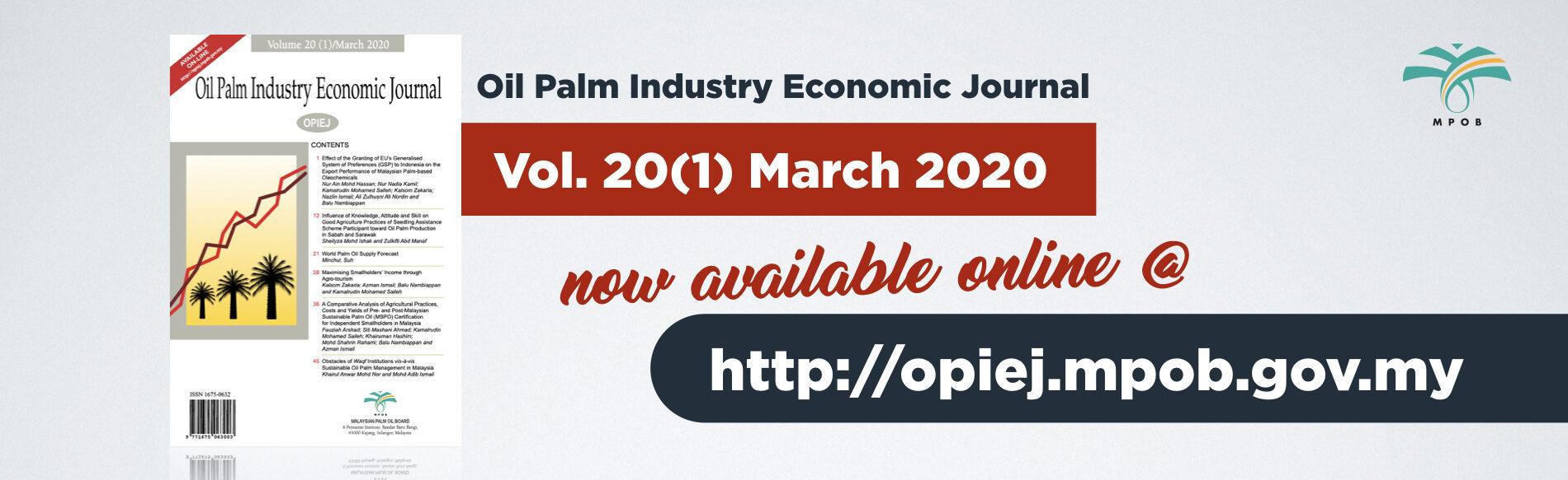 Palmoilis Palm Oil Information Online Service